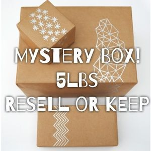 5 lb Mystery Box Resell or Keep Variety Items